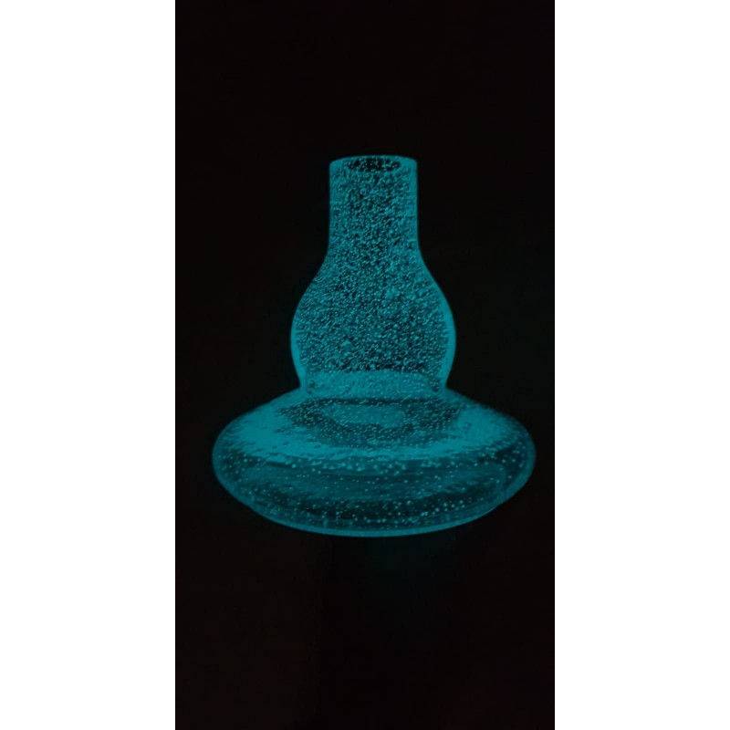 Base Mr. Shisha Rocket 2.0 Retroiluminada Azul
