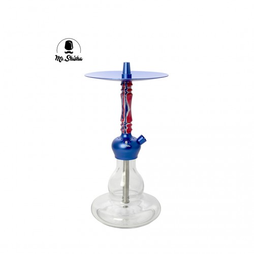 Mr. Shisha Rocket Blue Carbon