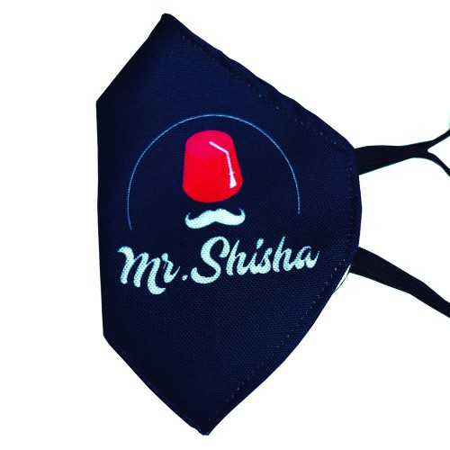 MASCARILLA HIGIENICA LAVABLE MR.SHISHA